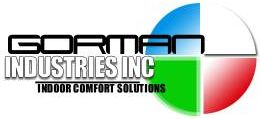 Gorman Industries for All Your Furnaces and Air Conditioning Needs